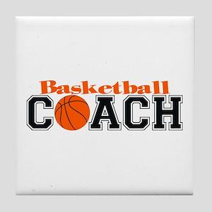 Basketball Coach Tile Coaster