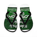 Rider Pride Inside Flip Flops