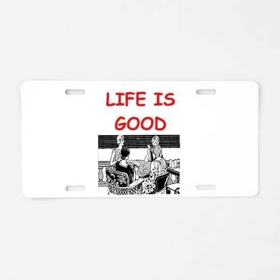 BRIDGE1 Aluminum License Plate