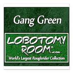 Gang Green Square Car Magnet 3