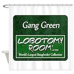 Gang Green Shower Curtain
