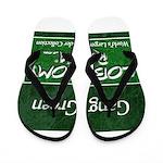 Gang Green Flip Flops