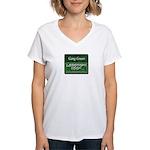 Gang Green Women's V-Neck T-Shirt