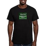 Gang Green Men's Fitted T-Shirt (dark)