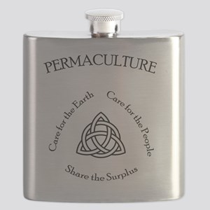 Permaculture Ethics Flask