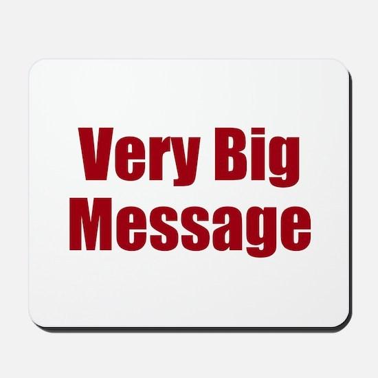 Very Big Custom Message Mousepad