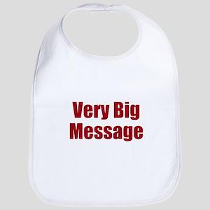 Very Big Custom Message Bib