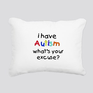 Whats your excuse? Rectangular Canvas Pillow