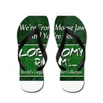 We're From Moose Jaw Flip Flops
