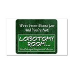We're From Moose Jaw Car Magnet 20 x 12