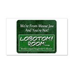 We're From Moose Jaw 20x12 Wall Decal