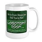 We're From Moose Jaw Large Mug