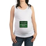 We're From Moose Jaw Maternity Tank Top