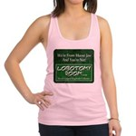 We're From Moose Jaw Racerback Tank Top