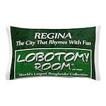 Regina Rhymes With Fun Pillow Case