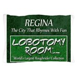 Regina Rhymes With Fun Pillow Case