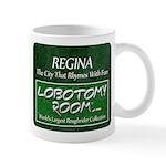 Regina Rhymes With Fun Mugs
