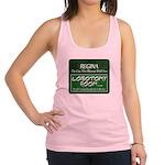 Regina Rhymes With Fun Racerback Tank Top