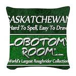 Saskatchewan Woven Throw Pillow