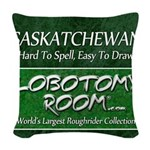 Saskatchewan Woven Throw Pillow