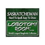 Saskatchewan Throw Blanket