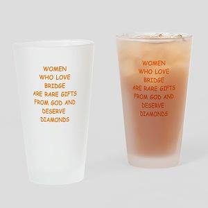 BRIDGE Drinking Glass