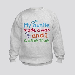 My Auntie made a wish Sweatshirt