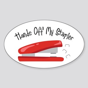 Hands off my Stapler Sticker