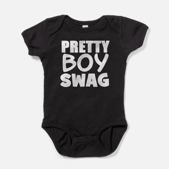 PRETTY BOY SWAG DARK Baby Bodysuit