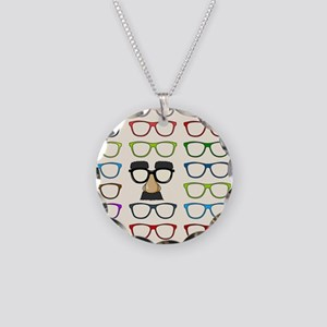 So Many Choices Necklace Circle Charm