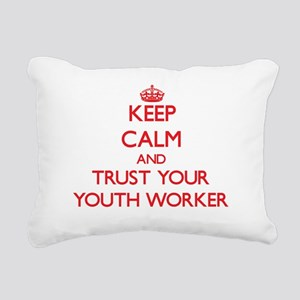 Keep Calm and trust your Youth Worker Rectangular