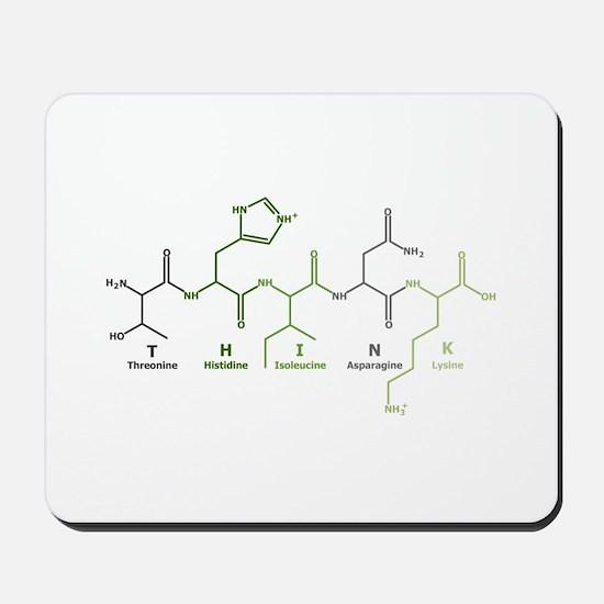 Think Peptide Mousepad