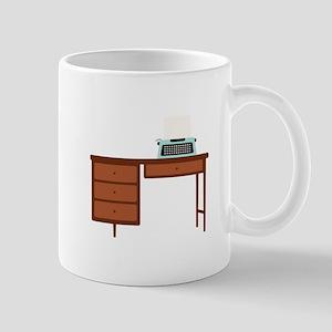 Vintage Desk and Typewriter Mugs
