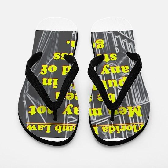 Florida Dumb Law #4 Flip Flops