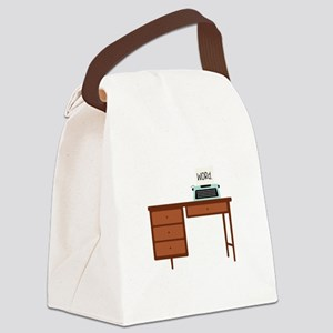 Word Canvas Lunch Bag