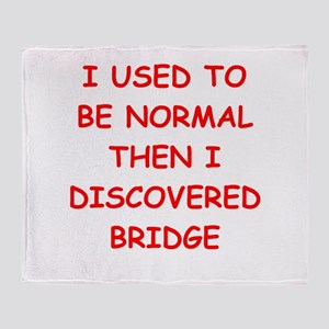 BRIDGE Throw Blanket