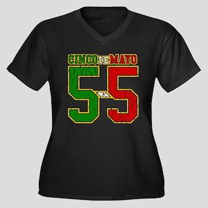 Cinco de Mayo Athletic Dept Plus Size T-Shirt