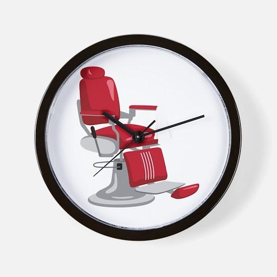Barber Chair Wall Clock