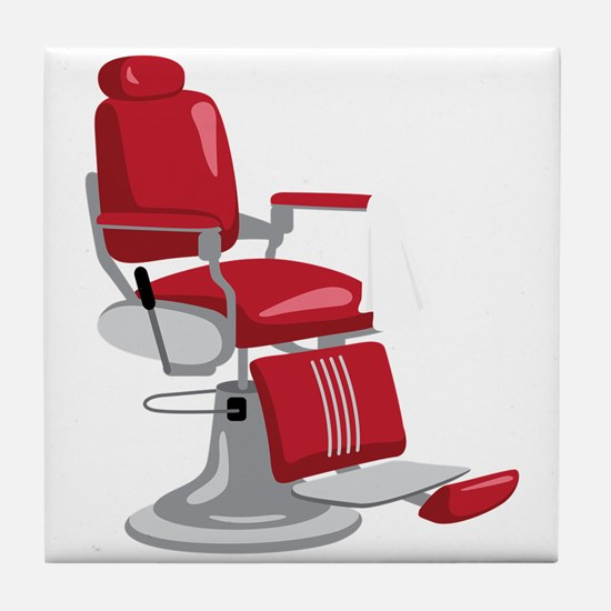 Barber Chair Tile Coaster