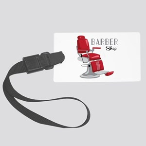 Barber Shop Luggage Tag