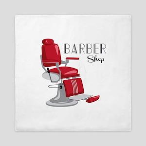 Barber Shop Queen Duvet