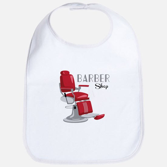 Barber Shop Bib