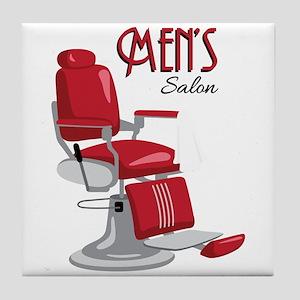Mens Salon Tile Coaster