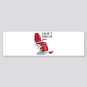 Save And A Haircut Bumper Sticker