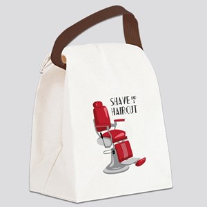 Save And A Haircut Canvas Lunch Bag