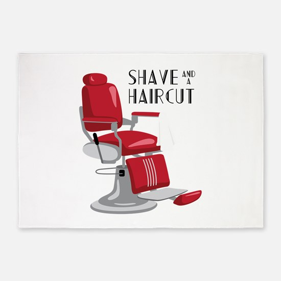 Save And A Haircut 5'x7'Area Rug