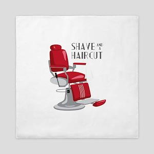 Save And A Haircut Queen Duvet