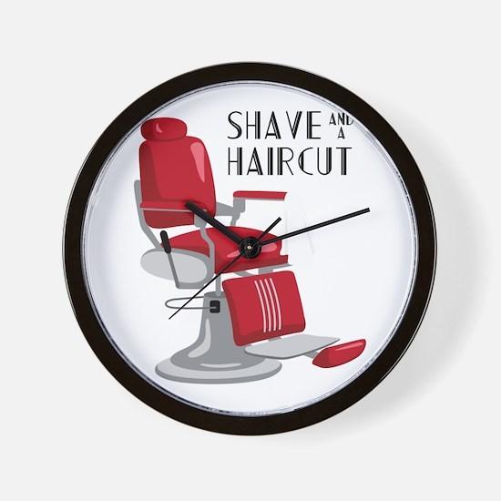 Save And A Haircut Wall Clock