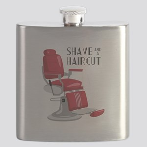 Save And A Haircut Flask