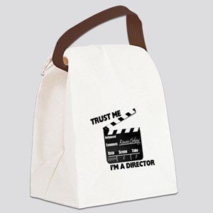 Trust Me I'm A Director Clapboard Canvas Lunch Bag